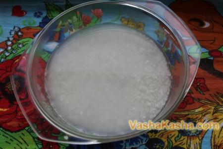 Рис с кипятком
