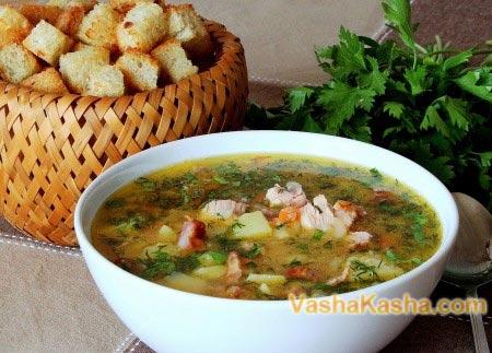 готовый гороховый суп