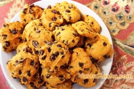 готовые тыквенные печенья
