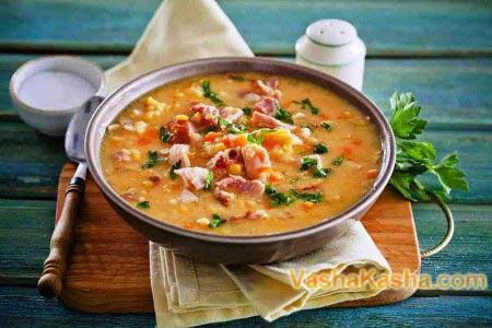 готовий гороховий суп