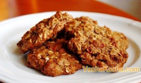 готовые овсяные печенья