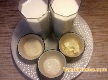 ингредиенты на тарелке
