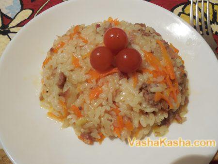 готовая рисовая каша