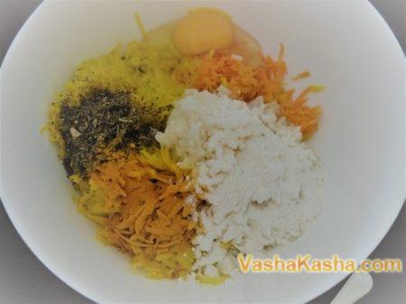 Биточки из риса
