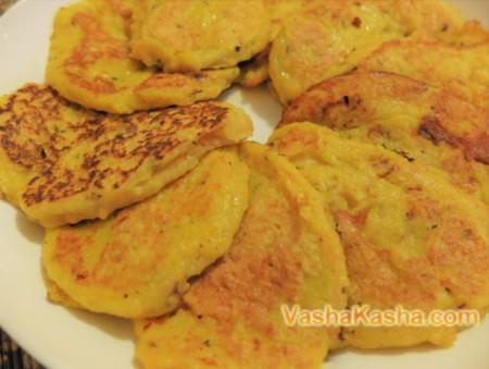 Вкусные оладьи из тыквы рецепт