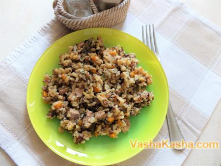 Как приготовить рис с мясом в мультиварке