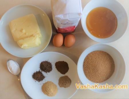 Печем имбирное печенье