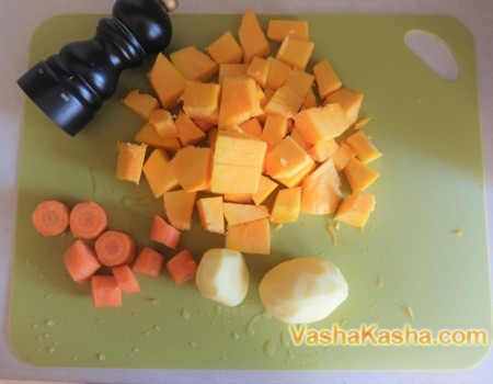 Тыквенный суп пюре рецепт диетический