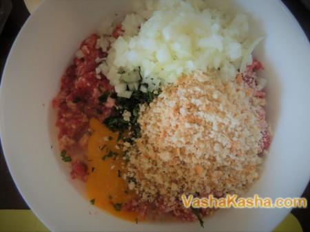 Рецепт мясных гнезд в духовке