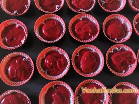 Рецепт капкейков красный бархат