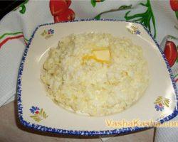 Recipe for millet porridge on water