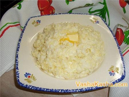 Каша пшенная с рисом