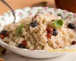 Recipe of barley porridge in a slow cooker