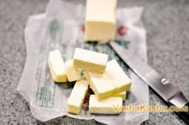 Sliced ​​Butter