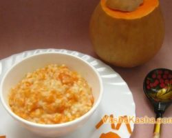 How to cook delicious pumpkin porridge in a slow cooker