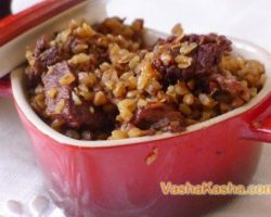 How to cook buckwheat porridge with meat