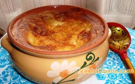 crusty porridge