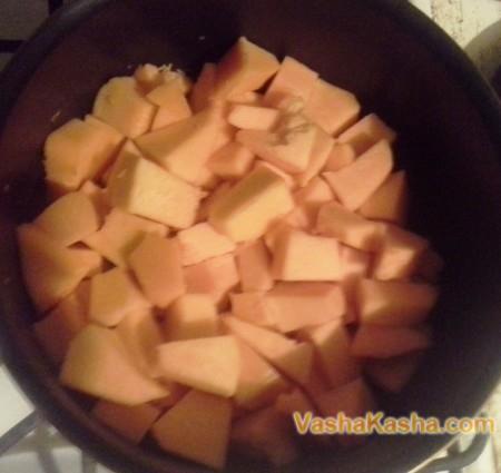 pumpkin diced