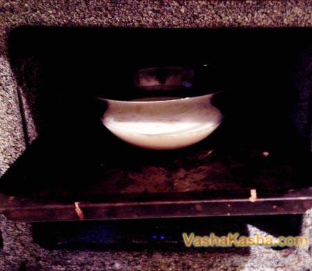кастрюля в духовке