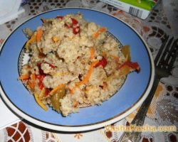 How to cook barley porridge with vegetables