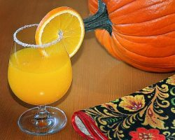 Recipe for making pumpkin juice for the winter