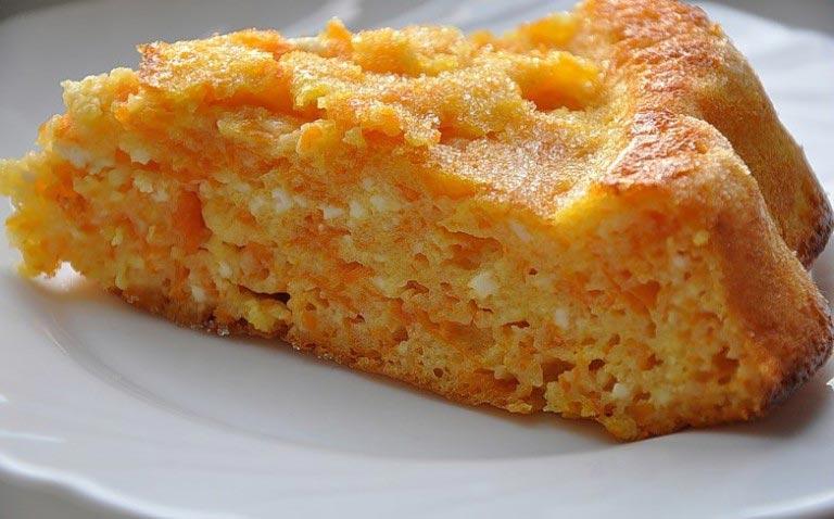 Творожно морковная запеканка в духовке пошаговый рецепт с