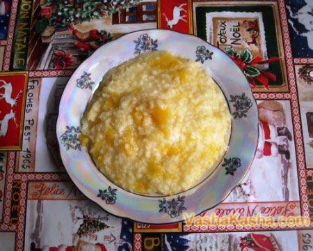 ready pumpkin porridge