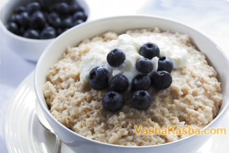 ready oatmeal rice porridge