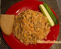 The recipe of cooking delicious buckwheat as a side