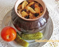 Recipe for cooking buckwheat with meat in a pot