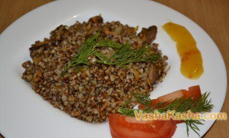 beautifully decorated buckwheat