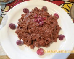 Recipe for cooking oatmeal porridge on milk