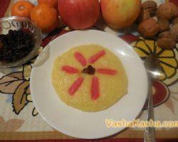 Recipe for making corn porridge on water