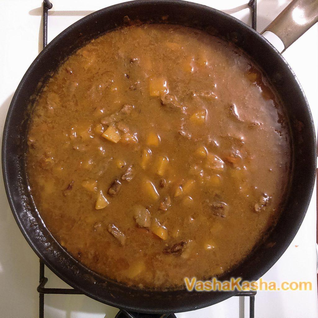 Подливка для гречки без мяса как в детском саду рецепт пошагово