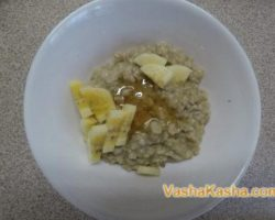 How to cook porridge from oatmeal