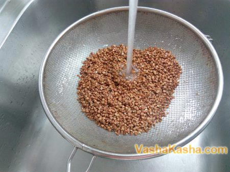 washed buckwheat
