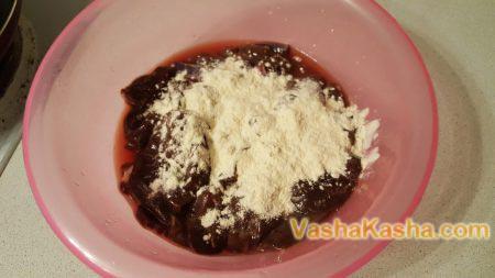 liver with flour