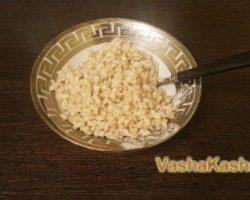 Recipe for barley porridge during breastfeeding