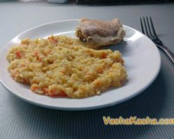 How to cook a side dish of corn grits