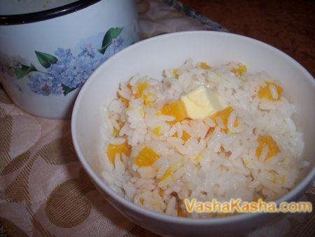 ready porridge in a portion plate
