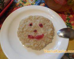 How to cook barley porridge for children