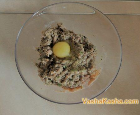 Buckwheat Zrazy with champignons