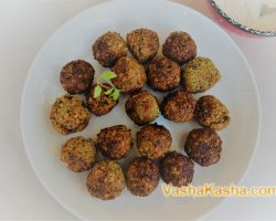 How to cook falafel