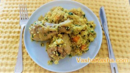 Chicken Legs Couscous