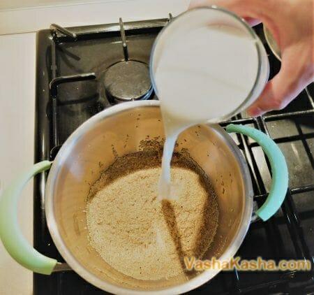 Как приготовить кашу из семян амаранта