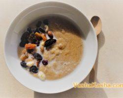 How to make amaranth seed porridge