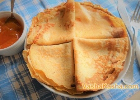 How to cook buckwheat pancakes with milk